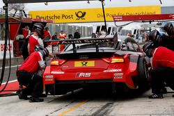 Arrêt au stand : Edoardo Mortara, Audi Sport Team Abt Audi RS 5 DTM
