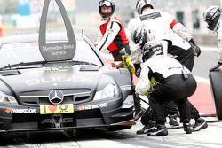 Pitstop Pascal Wehrlein, Mercedes AMG DTM-Team HWA DTM Mercedes AMG C-CoupÈ
