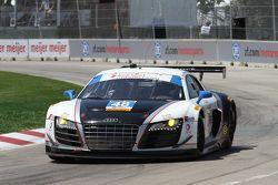 #48 Paul Miller Racing 奥迪 R8: 布赖斯·米勒, 克里斯托弗·哈斯