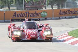 #70 Mazdaspeed/Speedsource Mazda Prototype: Tom Long, Sylvain Trembley