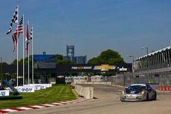 #81 GB Autosport Porsche 911 GT America: Bob Faieta, Damien Faulkner