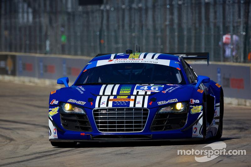 #46 Fall-Line Motorsports 奥迪 R8 LMS: 查尔斯·埃斯彭劳布, 查理·普特曼