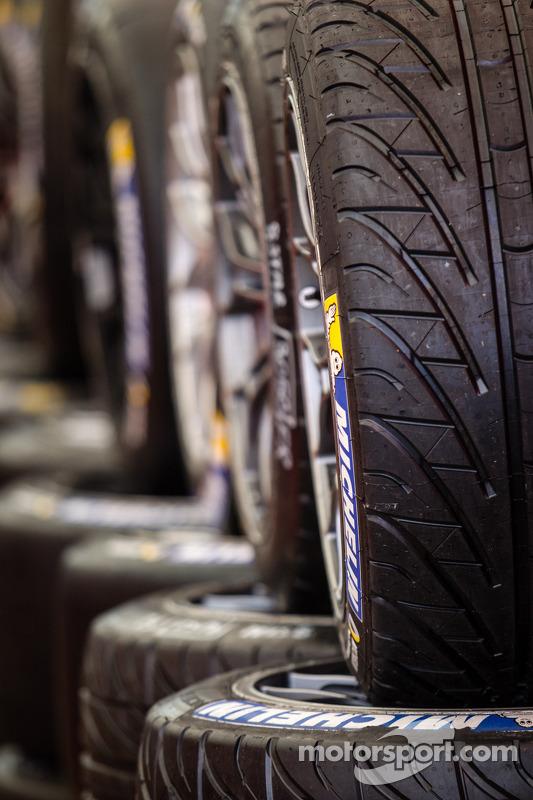 Michelin pneus de chuva