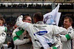 Mécaniciens de Marco Wittmann, BMW Team RMG BMW M4 DTM