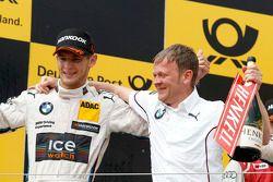Marco Wittmann, BMW Team RMG BMW M4 DTM and Stefan Reinhold , BMW Team RMG