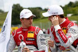 Nico Müller, Audi Sport Team Rosberg, Audi RS 5 DTM, und Jamie Green, Audi Sport Team Abt Sportsline