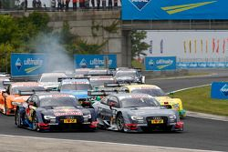 Start, Mattias Ekstroem, Audi Sport Team Rosberg, Audi RS 5 DTM