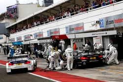 Maxime Martin, BMW Team RMG BMW M4 DTM and Bruno Spengler, BMW Team Schnitzer BMW M4 DTM
