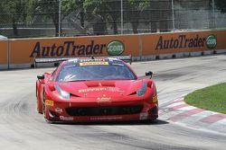 Anthony Lazzaro, Ferrari 458 GT3
