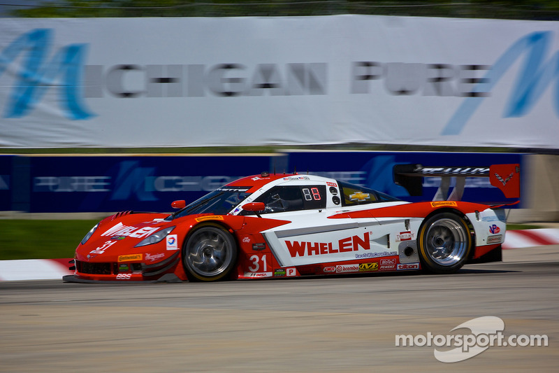 #31 Marsh Racing Corvette DP: Eric Curran & Boris Said