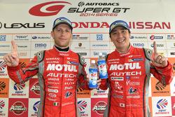 GT500 winners Tsugio Matsuda and Ronnie Quintarelli