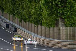 #1 Audi Sport Team Joest Audi R18 E-Tron Quattro: Lucas Di Grassi, Loic Duval, Tom Kristensen, #53 R