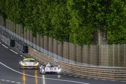#1 Audi Sport Team Joest Audi R18 E-Tron Quattro: Lucas Di Grassi, Loic Duval, Tom Kristensen, #53 RAM Racing Ferrari 458 Italia: Johnny Mowlem, Mark Patterson, Archie Hamilton