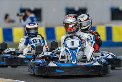 Media/drivers karting race: Pierre Thiriet