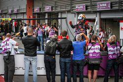 Карлос Саинс-мл.. Спа-Франкоршам, суббота, после гонки.