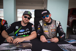 Vaughn Gittin Jr. and Chris Forsberg
