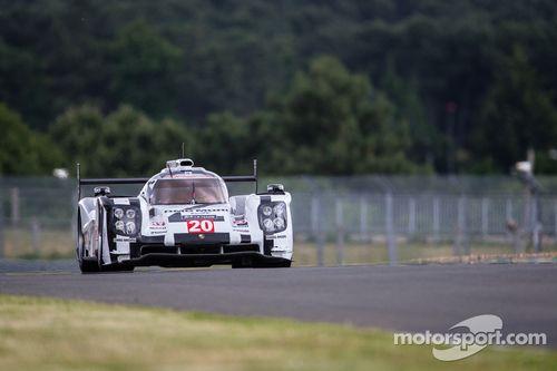 Pruebas privadas de Le Mans, junio