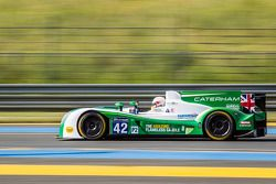 #42 Caterham Racing Zytek Z11SN - Nissan: Tom Kimber-Smith, Chris Dyson, Matthew McMurry
