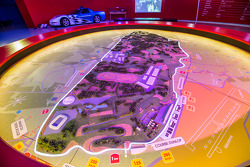 Un mapa del circuito de La Sarthe