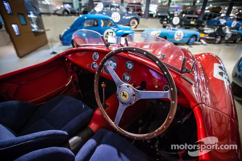 Ferrari 166MM в музее «24 часов Ле-Мана»