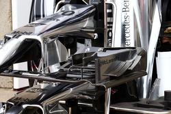 McLaren MP4-29, Frontflügel, Detail