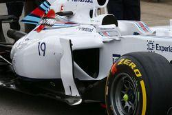威廉姆斯FW36赛车—侧面细节
