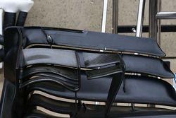 威廉姆斯FW36赛车—前翼细节