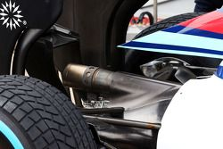 Williams FW36, Auspuff, Detail