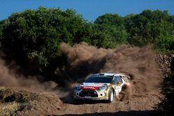 Khalid Al-Qassimi et Chris Patterson, Citroën DS3 WRC, Citroën Total Abu Dhabi World Rally Team