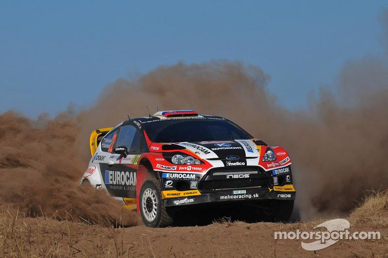 Jaroslav Melicharek e Erik Melicharek, Ford Fiesta WRC
