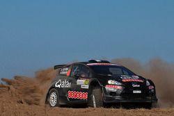 Nasser Al-Attiyah y Giovanni Bernacchini, Ford Fiesta RRC