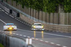 #99 Aston Martin Racing Aston Martin Vantage V8: Alex MacDowall, Darryl O'Young, Fernando Rees ; #67 IMSA Performance Matmut Porsche 911 GT3 RSR (997): Erik Marris, Jean-Marc Merlin, Eric Helary