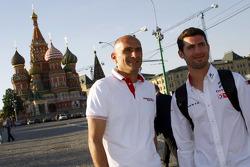 Gabriele Tarquini, Honda Civic WTCC, Castrol Honda WTCC Team lidera Tiago Monteiro, Honda Civic WTCC
