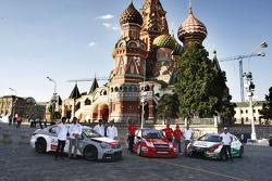 Sébastien Loeb, Citröen C-Elysee WTCC, Citröen Total WTCC, Jose Maria Lopez, Citröen C-Elysee WTCC,