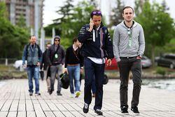 Felipe Massa, Williams, mit seinem Bruder Dudu