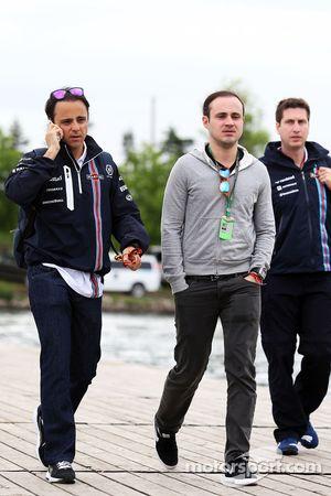 Felipe Massa, Williams con su hermano Dudu