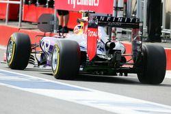 Daniel Ricciardo, Red Bull Racing RB10, Heckdiffusor, Detail