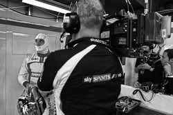 Jules Bianchi, Marussia F1 Team; Sky Sports F1, Kameramann