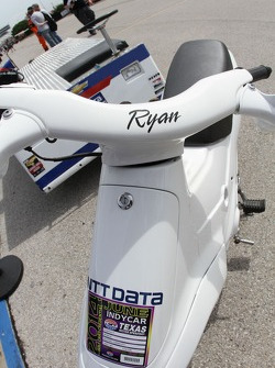 Ryan Briscoe's scooter