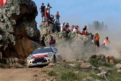 Khalid Al-Qassimi e Chris Patterson, Citroën DS3 WRC, Citroën Total Abu Dhabi World Rally Team