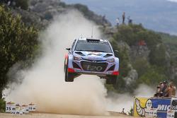 Juho Hanninen et Tomi Tuominen, Hyundai i20 WRC, Hyundai Motorsport