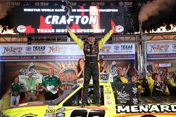 Matt Crafton celebrates