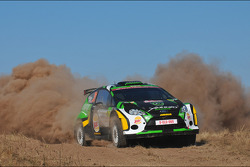 Yazeed Al Rajhi and Micheal Orr, Ford Fiesta RRC
