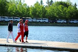 让·阿莱西,法拉利车队吉诺·罗萨托和法拉利车队的基米·莱科宁