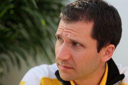 Remi Taffin, capo delle operazioni in pista di Renault Motorsport