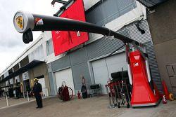 Ferrari, Boxenstoppausrüstung