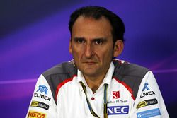 FIA-Pressekonferenz: Giampaolo Dall'Ara, Sauber F1 Team, leitender Ingenieur