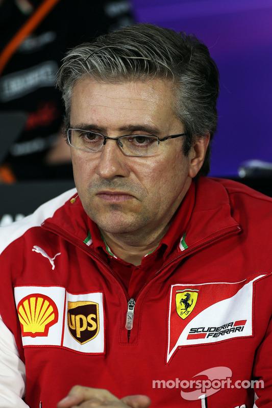 FIA-Pressekonferenz: Pat Fry, Ferrari, stellvertretender Technischer Direktor