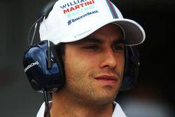 Felipe Nasr, Williams, Testfahrer
