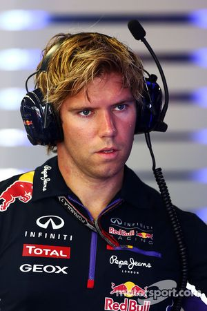 Antti Kontsas, entrenador de Sebastian Vettel, Red Bull Racing